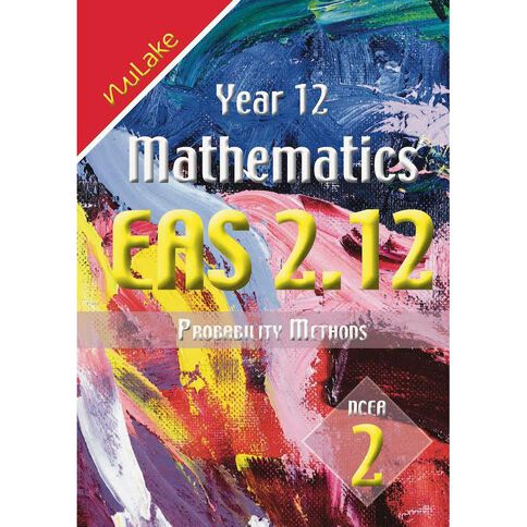 Nulake Year 12 Mathematics Eas 2.12 Probability Methods
