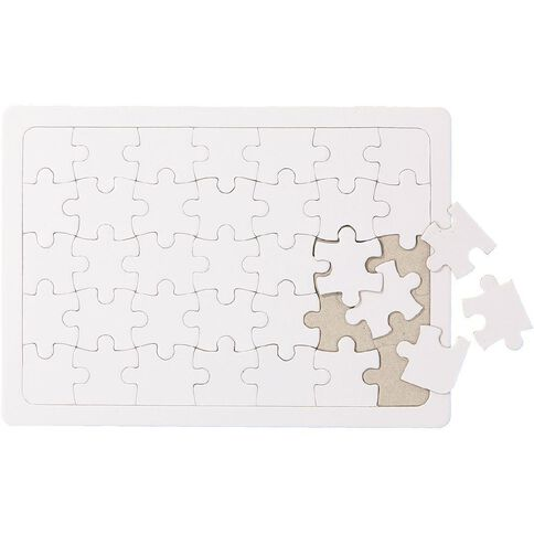Kookie Jigsaw Puzzle White A5