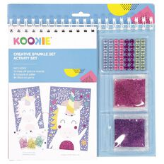 Kookie Activity Pad Sparkle Creativity