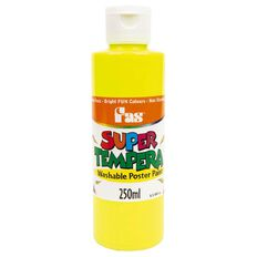 FAS Paint Super Tempera 250ml Fluoro Yellow