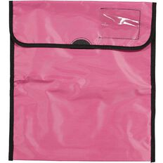 Impact Book Bag Zipper Pocket 36cm x 33cm Pink