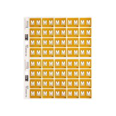Filecorp Coloured Labels M Yellow