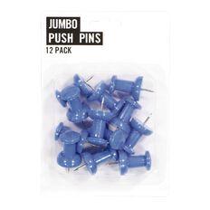Necessities Brand Jumbo Push Pins 12 Pack