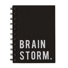 Uniti Craft Spiral Softcover Notebook Black A6