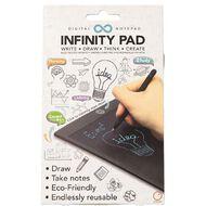 Satzuma Infinity Note Pad Black
