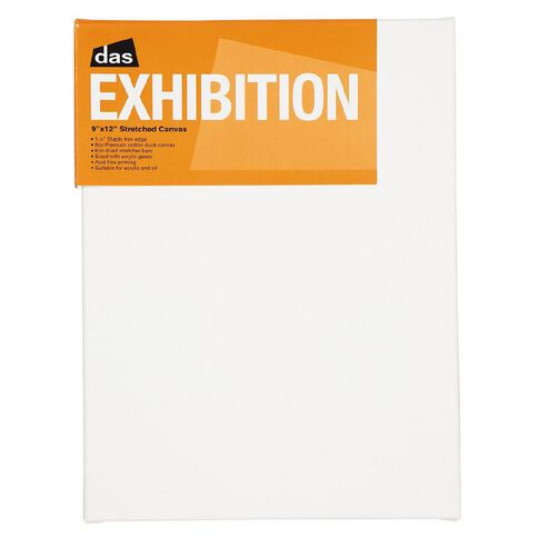 DAS 1.5 Exhibition Canvas 9 x 12in White