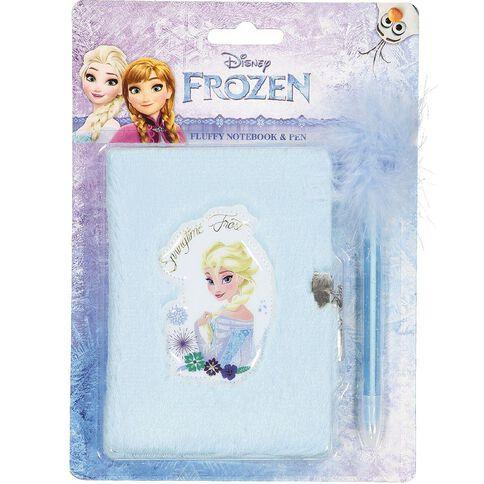 Frozen Plush Notebook Set A5