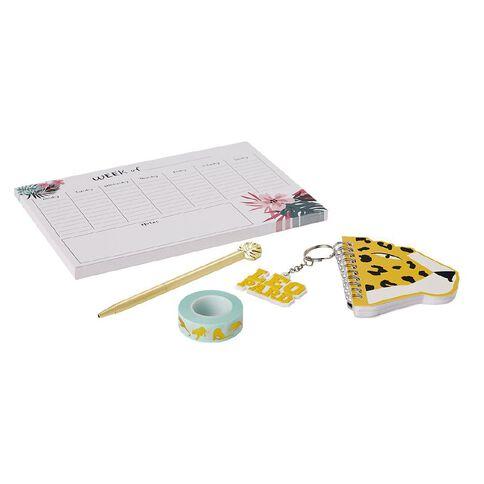 Uniti Fun & Funky Q3 Stationery Set Beauty Leopard