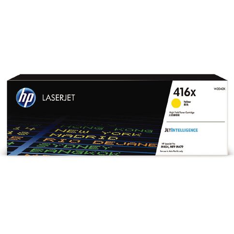HP Toner 416X Yellow (6000 Pages)