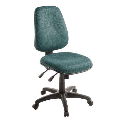 Eden Chorus 3 Lever Highback Ergonomic Chair Atlantic
