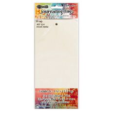Ranger Dylusions Media Paper #10 Tags 4.125 X 8.5 Inches 10 Pack