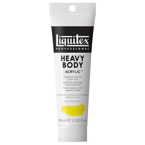 Liquitex Hb Acrylic 59ml Cadmium Light Hue Yellow