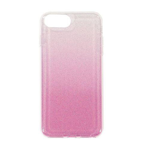 Tech.Inc iPhone 6+/7+/8+ Ombre Glitter Case Pink