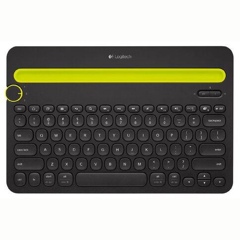 Logitech Wireless Bluetooth Multi-Device Keyboard K480 Black