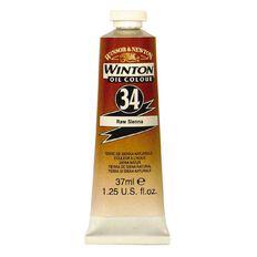 Winsor & Newton Winton Oil Paint 37ml Raw Sienna Brown