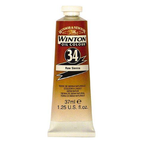 Winsor & Newton Winton Oil Paint 37ml Raw Sienna