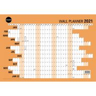 Impact 2021 Wall Planner Laminated (420X600mm) A2