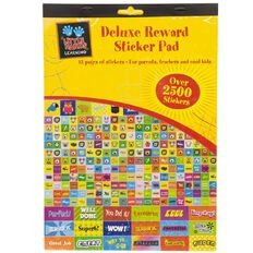 Little Hands Learning Deluxe Reward Sticker Pad A4