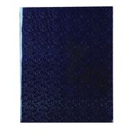 WS Book Cover Holographic Blue 45cm x 1m