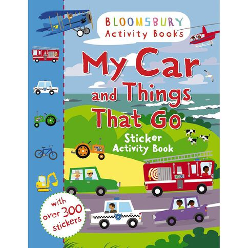 Bloomsbury Activity: My Car & Things That Go