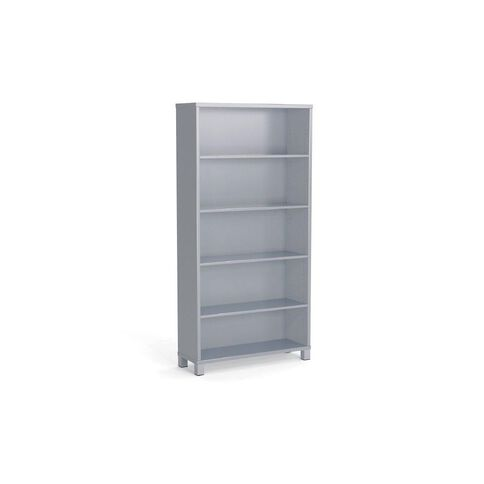 Cubit Bookcase 1800 Silver Silver
