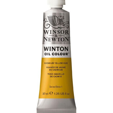 Winsor & Newton Winton Oil Paint 37ml Cadmium Yellow