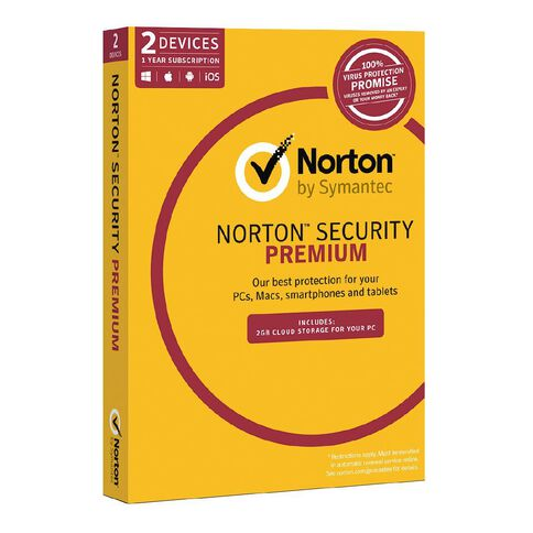 Norton Security Premium 3.0 2 Device