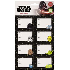 Star Wars 9 Book Labels