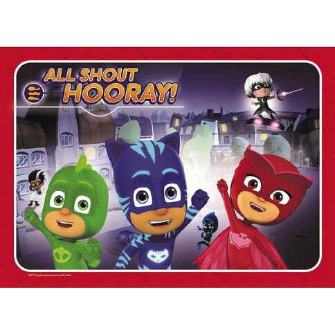 PJ Masks PJ Masks Frame Tray Puzzle 35 Piece Assorted