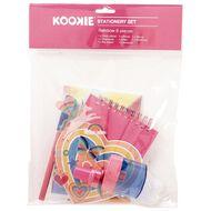 Kookie Rainbow Stationery Set 8 Pieces