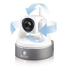 Swann HH Pan/Tilt Ip Cam with Smart Alerts White