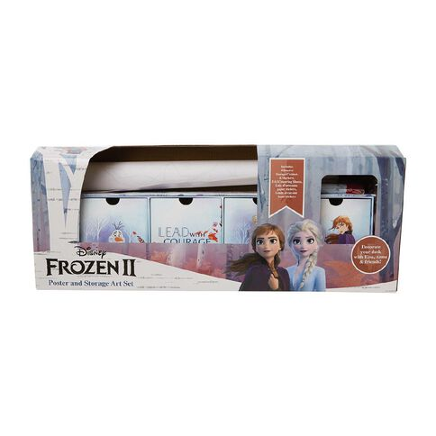 Frozen 2 Poster and Storage Art Set