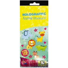Rosie's Studio Holographic 4PG Sticker Pads Assorted
