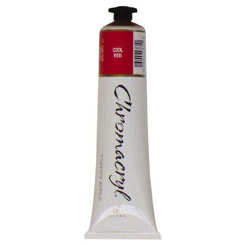 Chromacryl Paint 75ml Cool Red Red 75ml