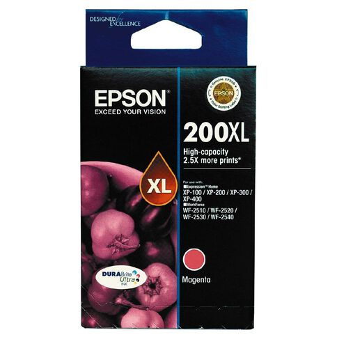 Epson Ink 200XL Magenta (450 Pages)