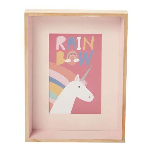 Kookie Rainbow & Unicorn Photo Frame