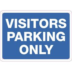 Impact Visitor Parking Only Sign Small 240mm x 340mm