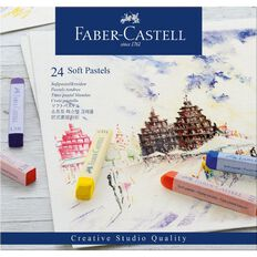 Faber-Castell Soft Pastels 24 Pack
