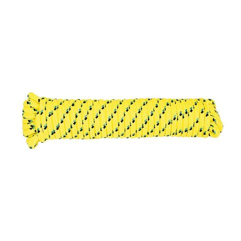 Mako Diamond Braided Poly Rope 9mm x 30m Assorted