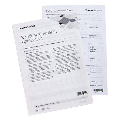 Tenancy Agreement Residential White
