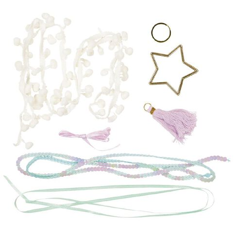 Craft Crush Star Keyring Kit