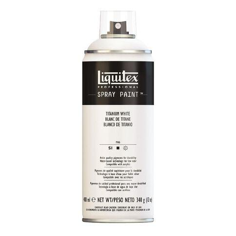 Liquitex Spray 400ml Titatnium White White