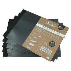 NCL Self Adhesive Refills Jumbo Black
