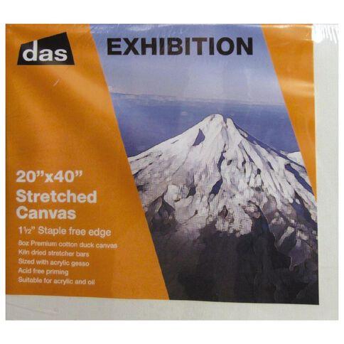 DAS 1.5 Exhibition Canvas 20 x 40in White