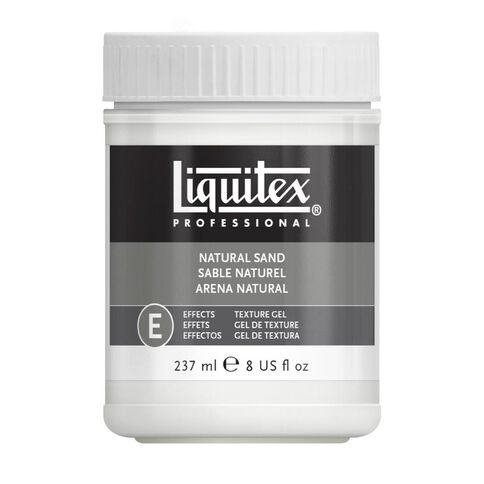 Liquitex Natural Sand Tex Effects Medium 237ml Clear