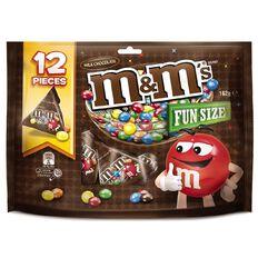 M&M's Milk Chocolate Party Share Bag 12 piece 162g