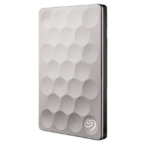 Seagate Backup Plus Ultra Slim 1TB Platinum