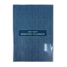 Modena B5 Any Year Monthly Planner Diary Personal