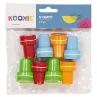 Kookie Stamp Set 8 Multi-Coloured 8 Pack