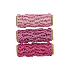 Uniti Hemp Cord Pinks 3 Pack